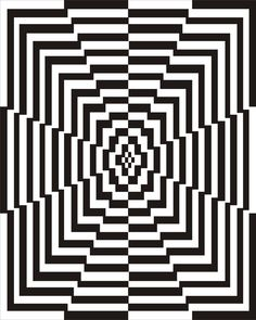 Super monochrome geometric pattern, would work well in needlepoint