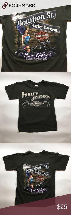 0466f2e759 Harley Davidson Bourbon Street TShirt Small Classic Harley Davidson T-shirt  with graphic from Bourbon