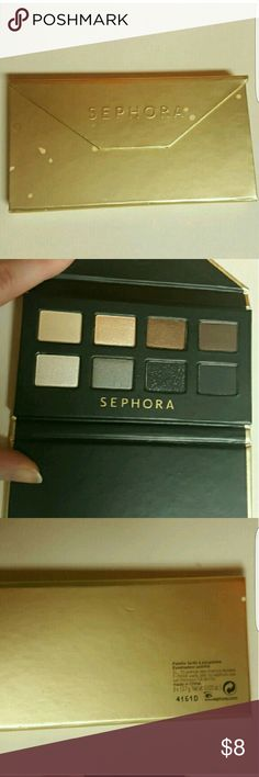 Sephora eyeshadow palette Never been used.  Its a mini eyeshadow palette  Ships within 2-4 days  No  PayPal  No holding  Price is firm  Authentic  No trading Sephora Makeup Eyeshadow