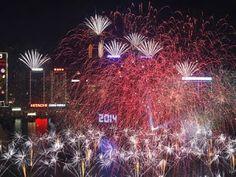 New Year in Hong Kong