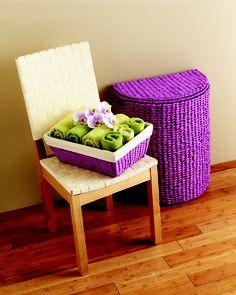 Cesteria on pinterest baskets basket liners and woven - Canastos de mimbre ...