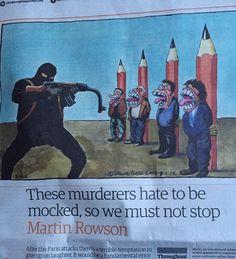 "Steve Bell & Martin Rowson, ""The Guardian"""