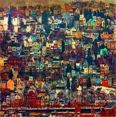 The Colour Is Starting To Build Up Nicely Book Fantastic Cities By Steve McDonald