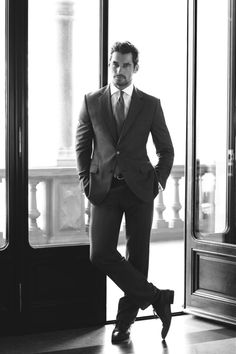 David Gandy is Clad in Elegant Styles for Marks & Spencer Fall/Winter 2012 Campaign