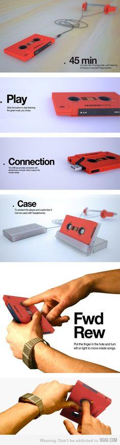 Nostalgic MP3 Player