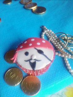 Cupcake pirata Noviembre 2014
