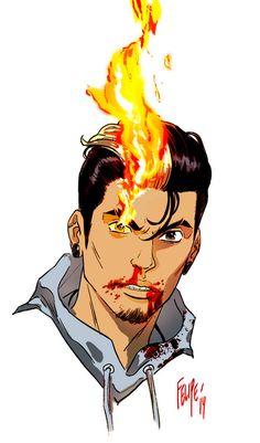 All-New Ghost Rider Robbie Reyes by Felipe Smith.