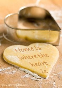 Home is where the heart is. The joy of having a home. So many are homeless.