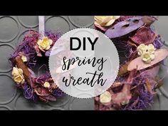 How to make wreath at home // Rustic Decoration // Easy DIY Tutorial - YouTube