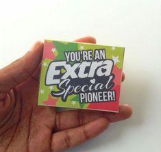 adorable JW regular pioneer gifts.  JW pioneer school gift idea.                                                                                                                                                                                 Plus