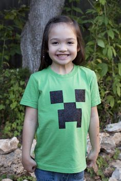 Minecraft is a fun and addictive game, suitable for adults and kids. It's my daughter's favorite game currently. Sadly, there's no official merchandise available right now, but Notch (the game's ...