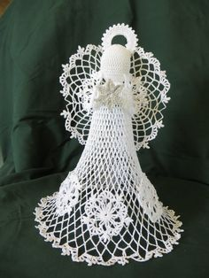 Crocheted  Angel by panhandleannies on Etsy, $40.00