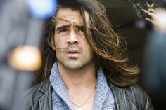 Colin Farrell provides visual inspiration Sullivan, the angel-turned-vampire in the Fangs & Halos Series.