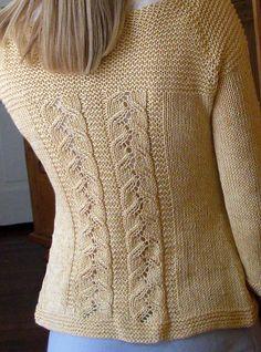 Ravelry: shadystroll's Leafy Lady Sweater