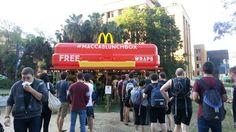 #Sydney #FreeFood #Wraps #Maccaslunchbox