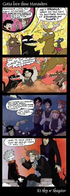 Yes, because Remus can definitely chose when he transforms and he can totally chose not to bite Severus because he has complete free will on the full moon...