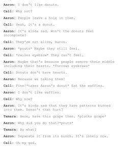 Aaron is precious