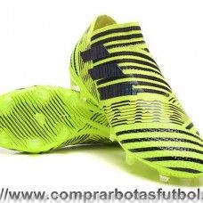Botas De Futbol Adidas Nemeziz 17+ 360 Agility FG Negro Amarillo Munich ef682532281d5