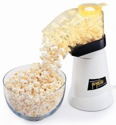 A PopLite hot air popcorn popper that spares you time, money, and contact with unhealthy chemicals found in most microwavable bags. | 27 Of The Best Kitchen Appliances You Can Get On Amazon