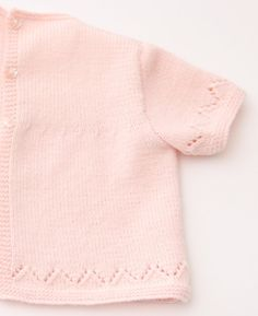 Lace Baby Tunic Instructions in English PDF by LittleFrenchKnits