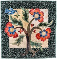 Long Island Tree of Life by Georgia Heller - Quilt Artist
