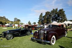 1938 Packard 1608 All-Weather Cabriolet & 1932 Bugatti Type 55 s/n 55206
