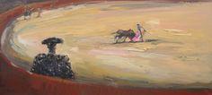 Fantasia Taurina, 2009 Óleo sobre tela 90 x 200 cm