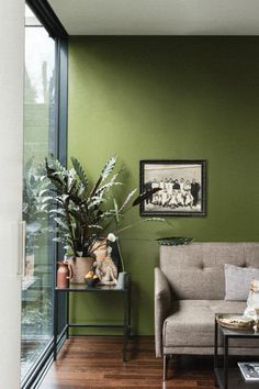 A protective olive green This mid-century modern green is a darker version of the much loved archive colour, Olive. Perfect for those who want to embrace stronger colour in the home, its sober tone creates rooms that feel calm and serene - especially when combined with soft pinks and browns. Named after Japanese tea leaves, Bancha, like a cup of green tea, provides a feeling of security. Recommended Primer & Undercoat: Dark Tones Complementary white: Shaded White
