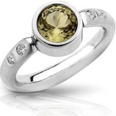 Zultanite® Ring set in Platinum for sale by Zultanite Gems LLC on Etsy!
