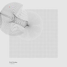 Refik Anadol – Generative Sketches; Grid Studies