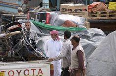 Discussing Dhow Cargo - Dubai, United Arab Emirates
