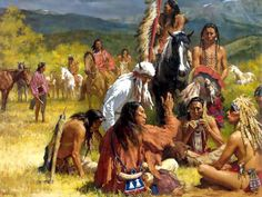 Council of Chiefs by Howard Terpning
