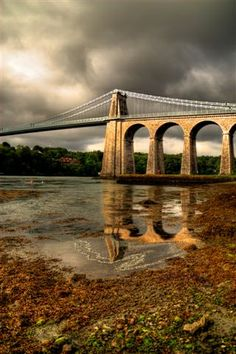 Menai Bridge - Anglesey, Wales. A great location for a sailing holiday.