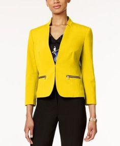 Nine West Taylor Zip-Pocket Jacket