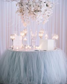 It's like a cloud of goodness! We love #tulle!  #winkdesignandevents #wedding #design #decor #weddingreception #weddingplanner #eventprofs #weddingdesigner #floral #tablescape #centerpiece #fabulous #nola #flowers #candles #followyournola #neworleans #nolawedding #luxurywedding #southernwedding #neworleanswedding #weddinginspiration #neworleansweddingplanner #weddingideas #nolalove  #weddingdecor #beautiful #love