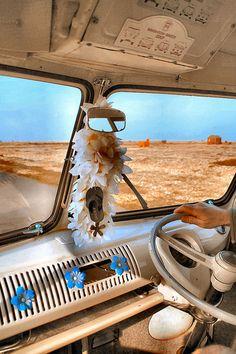 Inside a VW bus by Aircooledbenny - SC Automotive Photography, via Flickr