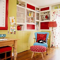 Idea-Packed Home Office for the Whole Family: Stylish Solutions for Home Offices