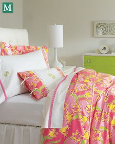 Lilly Pulitzer® Sister Florals Comforter Cover - Garnet Hill