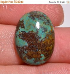 10% OFF Wholesale Natural Tibetan Turquoise Smooth Oval by AAGEMS