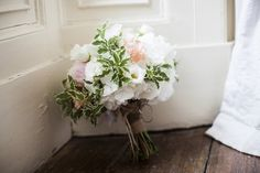 A Chic, Classic Kilshane House Wedding by Michelle Prunty - Wedding Bouquet by The French Touch