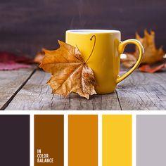 коричневый, оранжевый, оттенки коричневого, палитра для осени, подбор цвета, подбор цвета в интерьере, подбор цвета для дома, подбор цвета для осени, подбор цвета для ремонта, пурпурный, серый, фиолетовый, цвета осени 2017, яркий желтый.