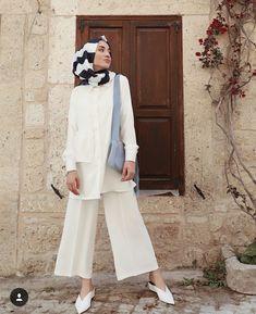Fashion Hijab Pantai 70 Ideas For 2019 Tesettür Mayo Şort Modelleri 2020 Casual Hijab Outfit, Hijab Chic, Hijab Dress, Swag Dress, Shirt Dress, Muslim Fashion, Modest Fashion, Fashion Outfits, Fashion Fashion