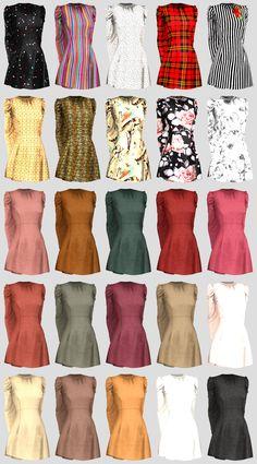 - ̗̀ Amanita Dress ̖́- (TS4) | Daisy Pixels Sims Mods, Sims 4 Game Mods, The Sims 4 Pc, Sims 4 Mm, Maxis, Tumblr Sims 4, Sims 4 Traits, Vetements Clothing, Pelo Sims