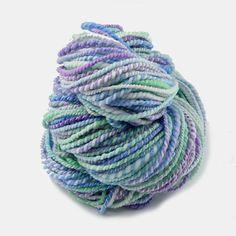 Hand Spun Super wash Merino Yarn in Sherbet Fizz | Shop Hand Spun Yarn Online #handspunyarn #artyarn