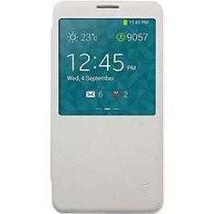 foto: Capa para Celular para Galaxy Note 3 em Acrílico Flip Cover com S View Branca - Driftin