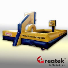 Perfect sport game for outdoor events from REATEK, Europe inflatable games manufacturer. Logo Shapes, Bouncy Castle, Indoor Playground, Sports Games, Central Europe, Outdoor Events, Design Your Own, Playroom, Advertising