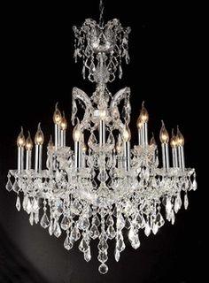 19 lights crystal chandelier supplier Free shipping classic gold crystal chandelier lighting C9111 90cm W x 110cm H