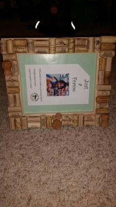 12x12 wine cork picture frame