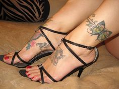 Nice-Butterfly-Tattoo-Design-Ideas-For-Ankle