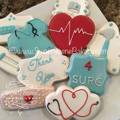 Healthcare Cookies. Thank you Cookies, Nurse Cookies https://flic.kr/p/Em5mor | Untitled
